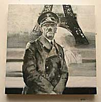 Painting: Hitler in France